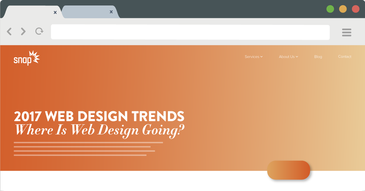 2017 Web Design Trends – Where Is Web Design Going? | Snap